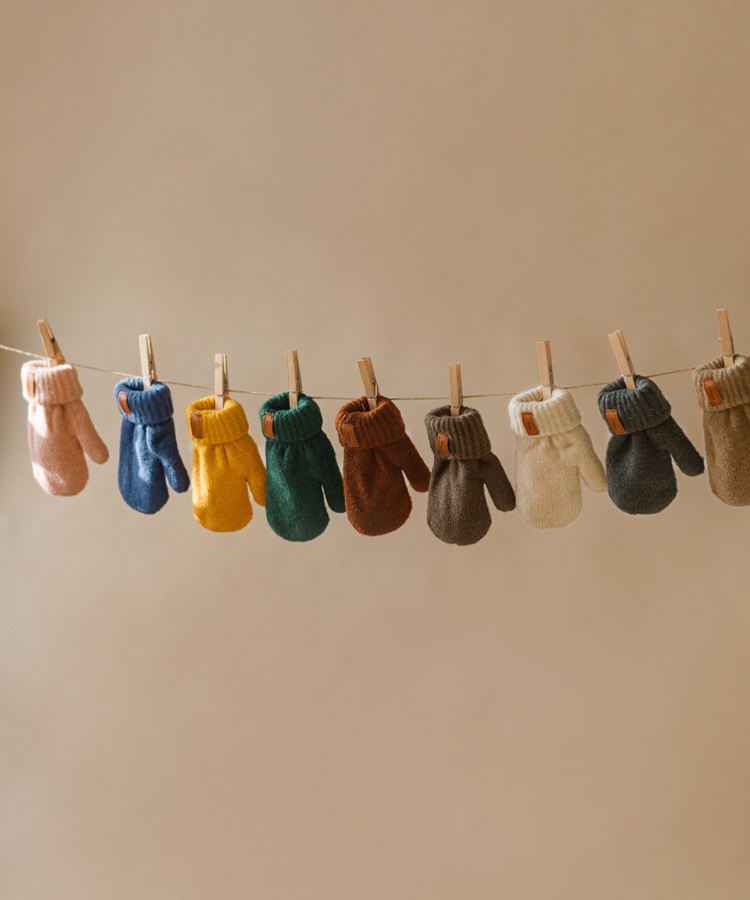 Baby Mocs - dūrainīši brūnā krāsā