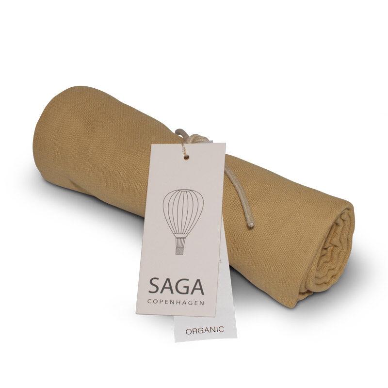Saga Copenhagen - 70 x 70 cm autiņš medus krāsā (Honey)