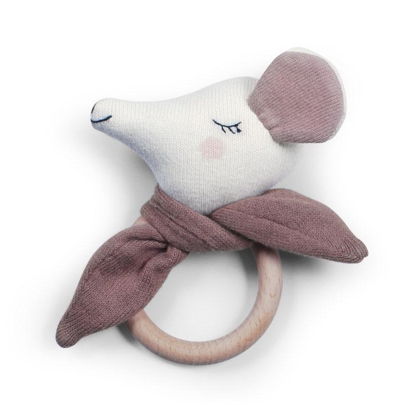 Saga Copenhagen - graužamriņķis pele tumši rozā krāsā (Fawn)