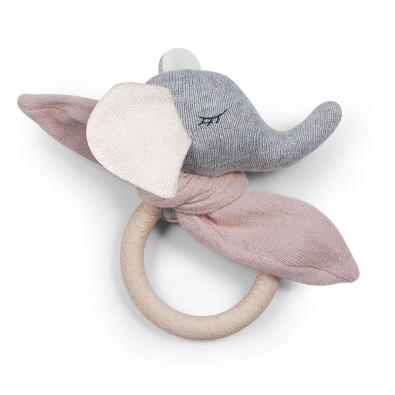 Saga Copenhagen - graužamriņķis zilonis rozā krāsā (Rose)