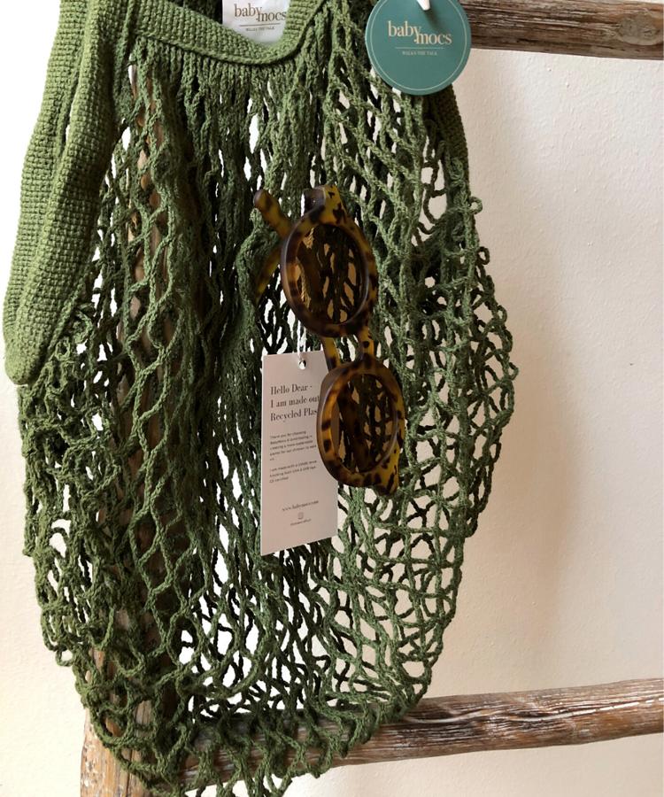 Babymocs - Eko maiss zaļā krāsā