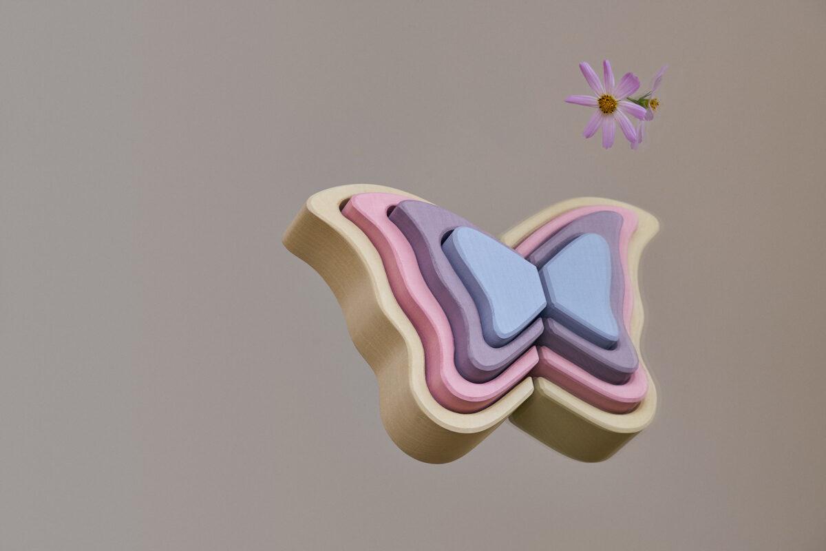 Raduga Grez - Tauriņu spārna formas varavīksne