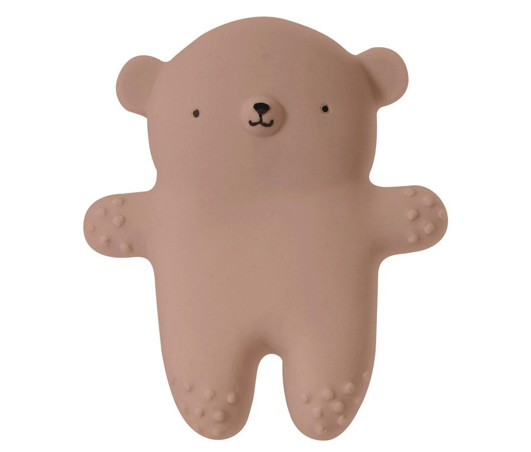 EEF Lillemor Dabīgas gumijas lācis -  māla krāsā
