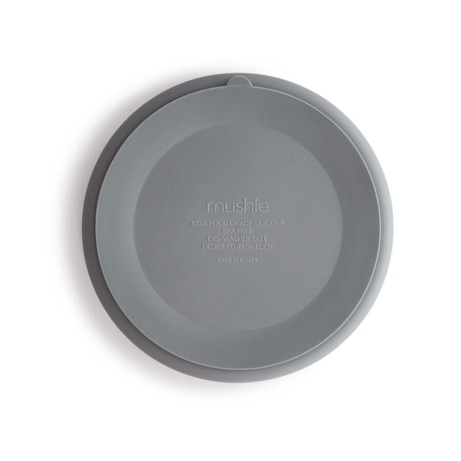 Mushie - silikona šķīvis / Stone