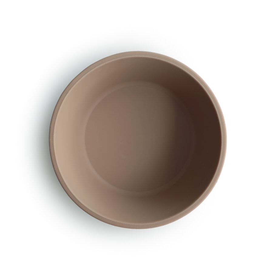 Mushie - silikona bļodiņa / Natural