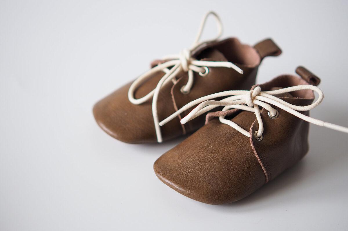 Oxforda zābaciņi - Dark brown 13 cm