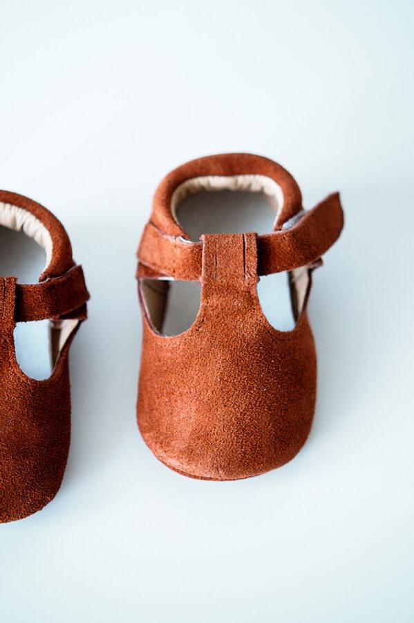 Sandalītes - Rust brown