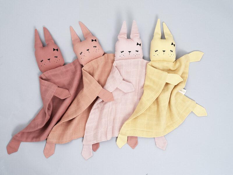 Mīļlupatiņa - Fabelab Bunny Clay (Māla krāsas trusītis)