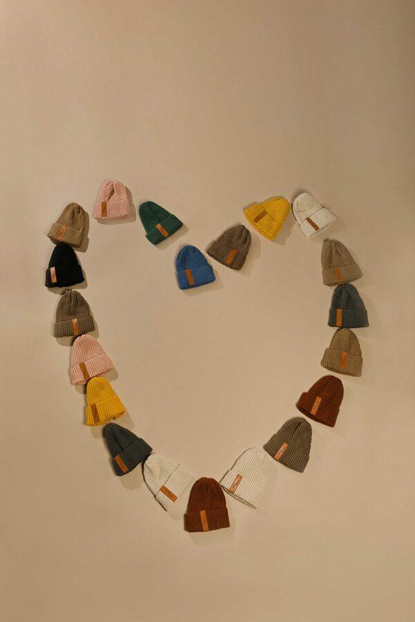 Baby Mocs - Beanie cepure karameļu brūna