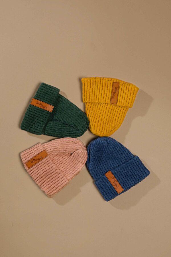 Baby Mocs - Beanie cepure zila