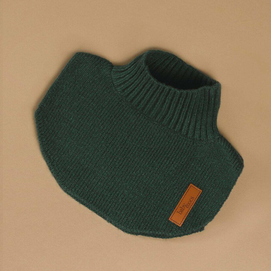 Baby Mocs - Siltā šalle tumši zaļa