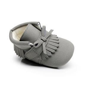 BabyMocs mazuļu čībiņas - Little Adventurer - Grey
