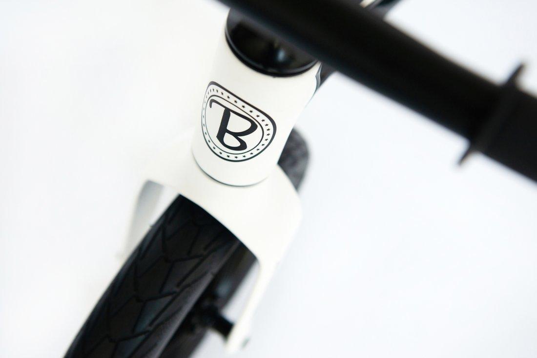 """Bungi bungi 12"""" līdzsvara ritenis baltā krāsā"""