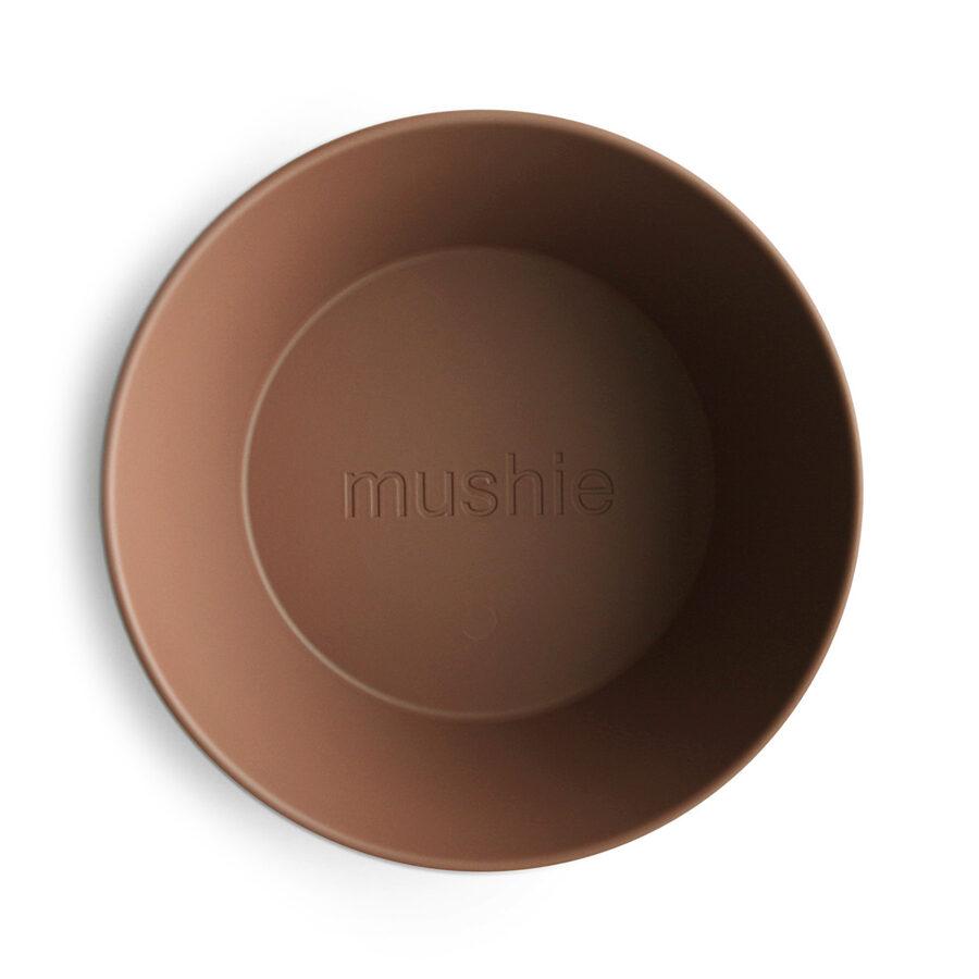 Mushie - bļodiņa 2 gb / Caramel