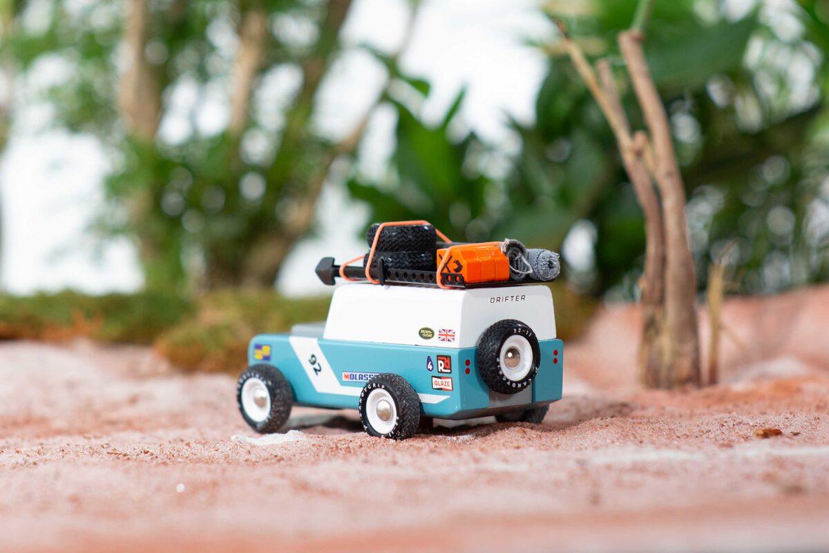 Candylab - Drifter Adventure Rainforest koka automašīna [lielā]