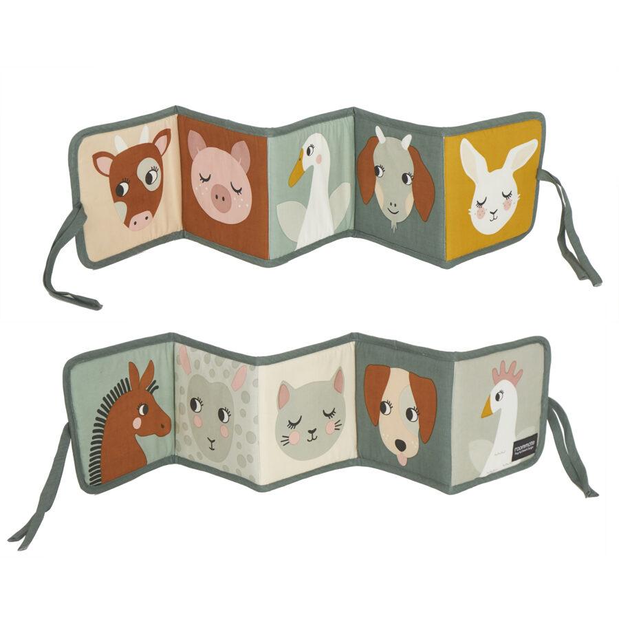 Roommate DK - Auduma dzīvnieku grāmata (Lauku dzīve)