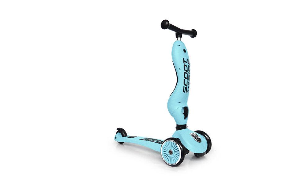 Scoot and Ride - Highway kick 2 in 1 gaiši zilā krāsā [Blueberry]