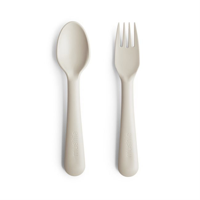 Mushie - galda piederumi / Ivory