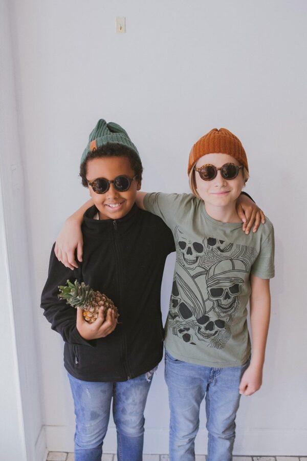 Baby Mocs - Beanie cepure tumši zaļa