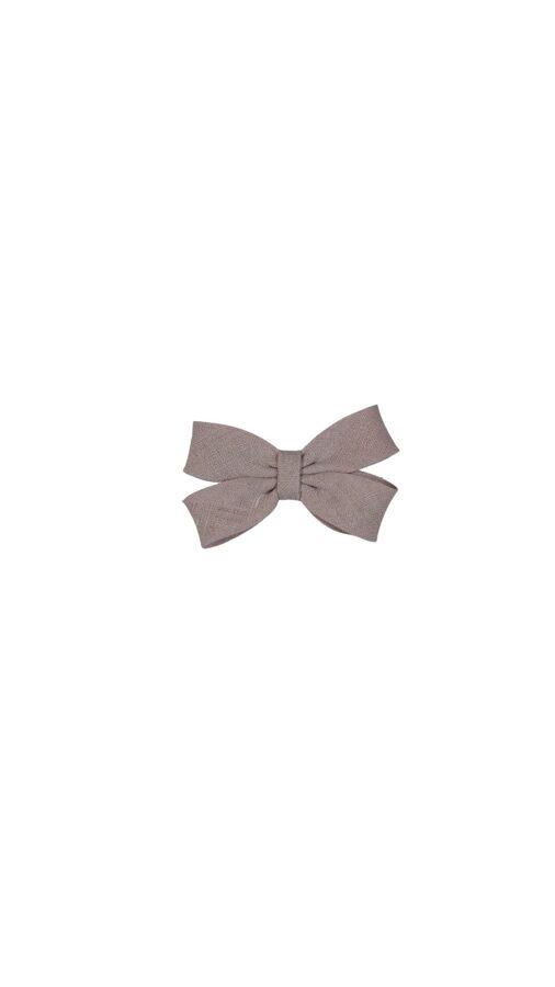 Matu sprādze - Maigi rozā lina bante