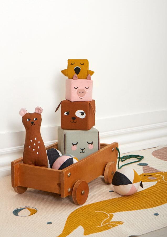 ROOMMATE DK - Mīkstā rotaļlieta Mini Bear
