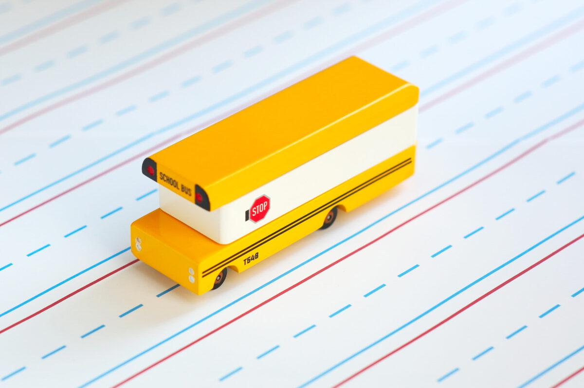 Candylab - School bus koka automašīna