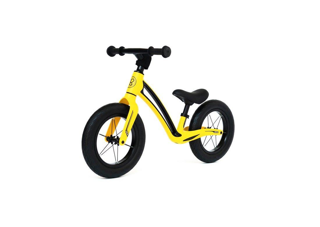"""Bungi Bungi 12"""" līdzsvara ritenis dzeltenā krāsā"""