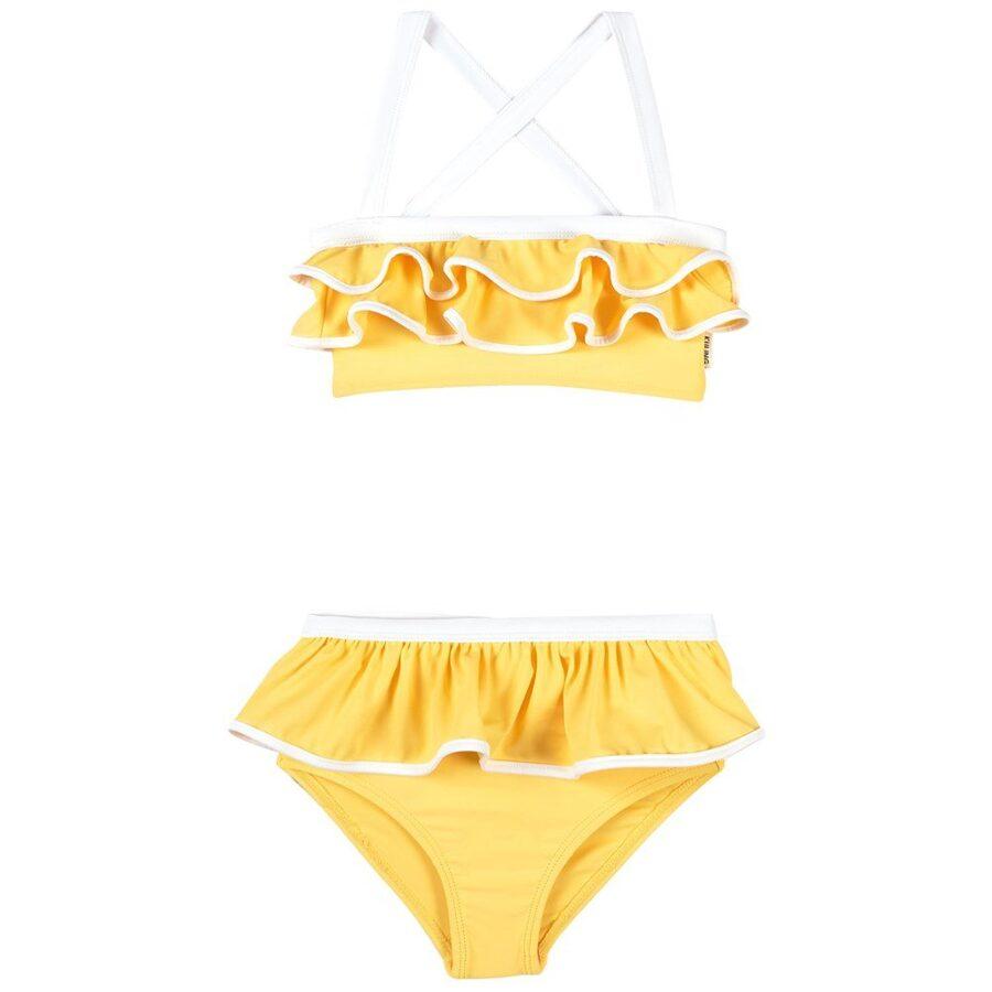 Divdaļīgs peldkostīms - Kuling Cannes Lemonade/Optical White