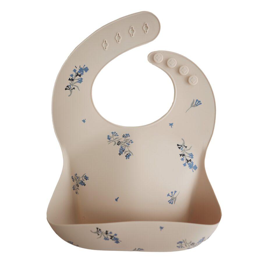 Mushie - silikona lacīte / Lilac Flowers