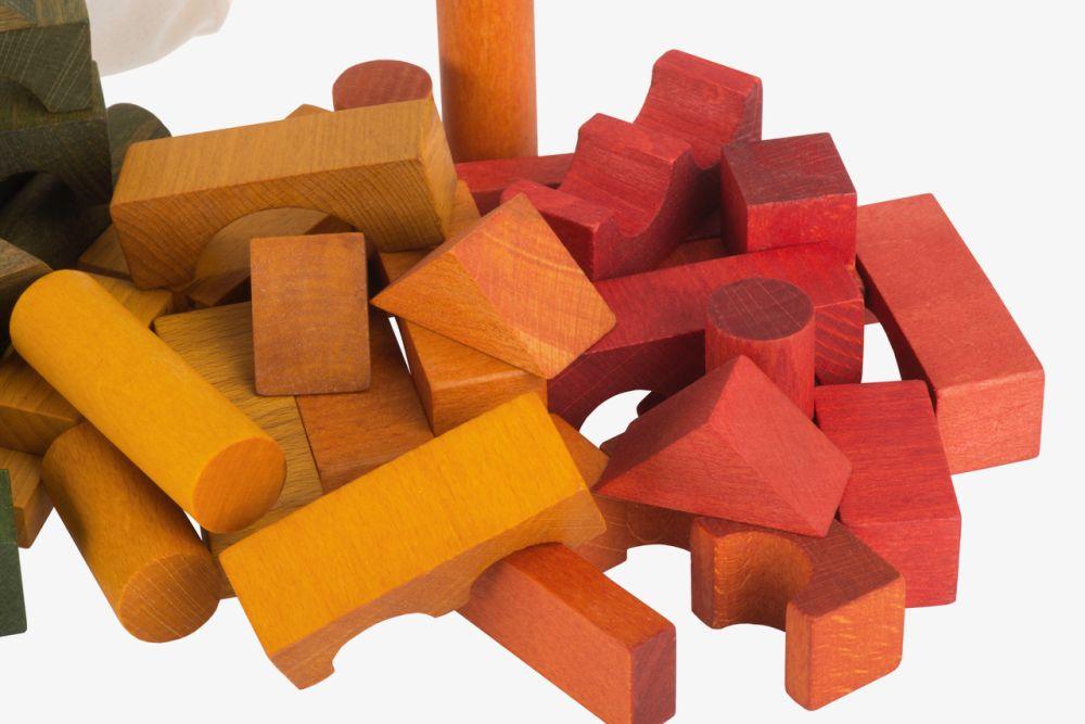 Wooden story 100 gab. krāsaini koka kluči