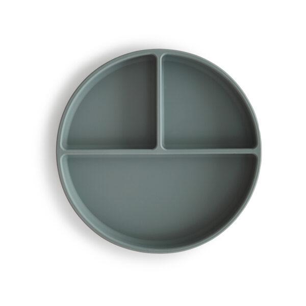 Mushie - silikona šķīvis / Dried Theme
