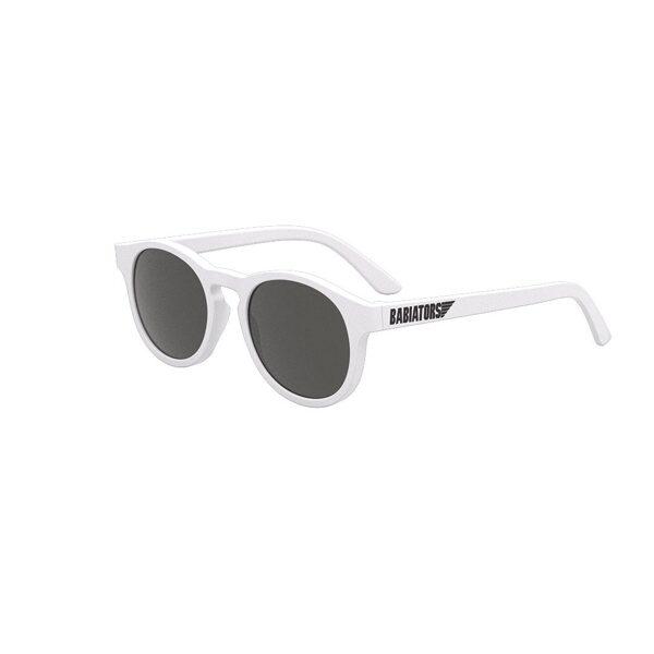 Babiators - Keyhole baltas saulesbrilles [Wicked white]