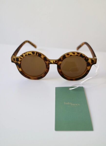 BabyMocs leoparda raksta saulesbrilles [Leo]