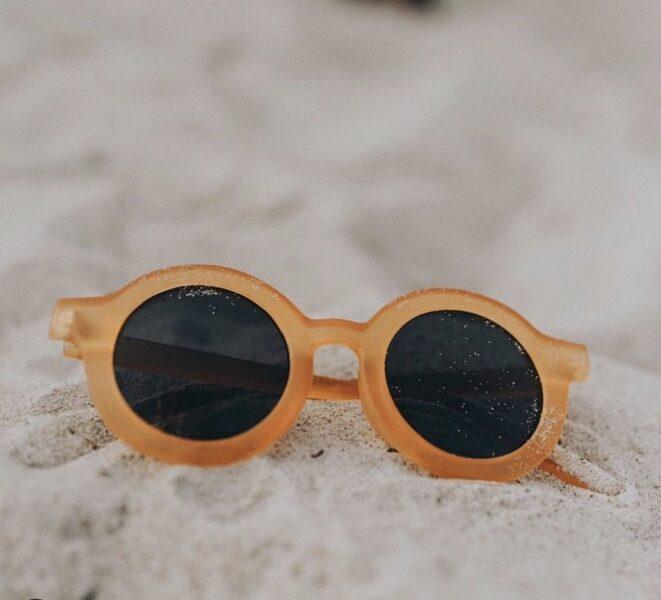 BabyMocs dzeltenā saulesbrilles [Yellow]