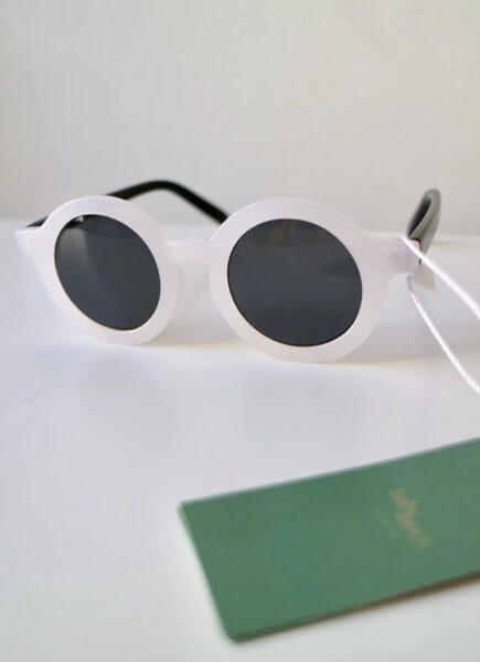 BabyMocs baltas saulesbrilles [White]