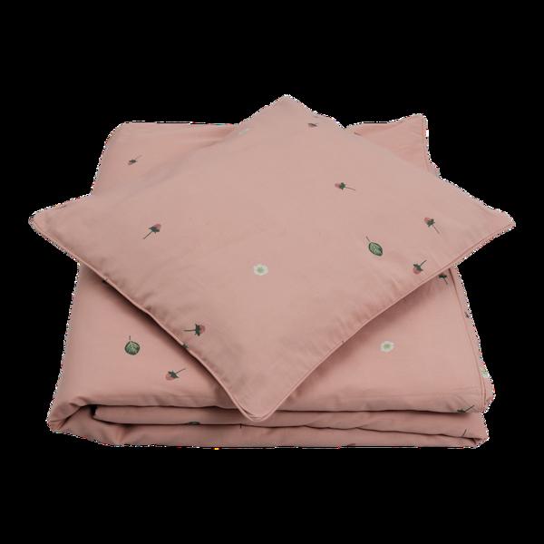Fabelab gultas veļas komplekts - Wild Strawberry 100x140 cm