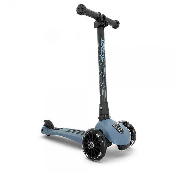 Scoot and Ride - Highwaykick 3 LED tērauda zils