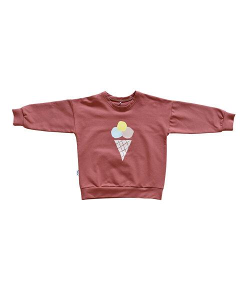 Džemperis ar saldējumu - Sārts