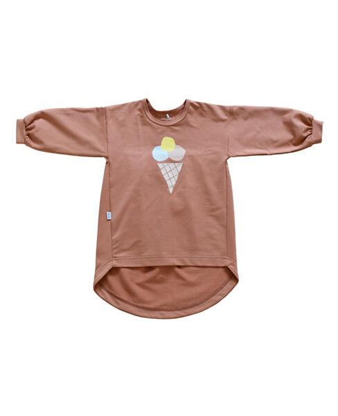 Tunika - Saulrieta oranža ar saldējumu
