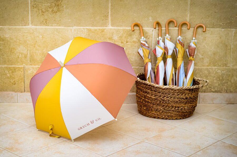 Grech & Co bērnu lietussargs - Burlwood