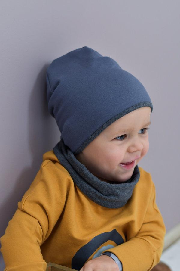 Beanie cepure - tumši zila