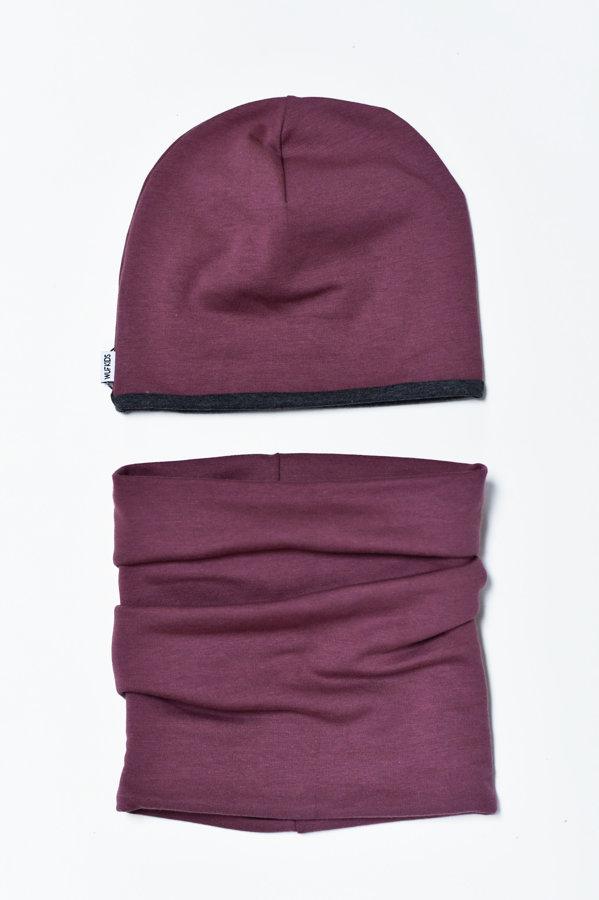 Beanie cepure - plūmju violeta
