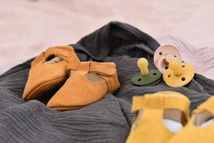 Zamšādas sandalītes - brūnā krāsā 13 cm