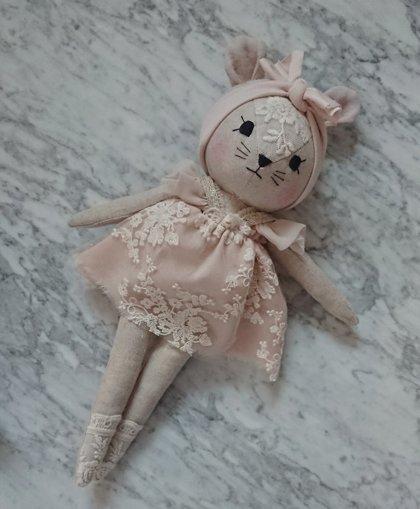 WONDERFOREST - Lina pele ar rozā tilla kleitu
