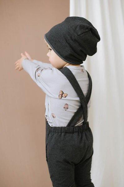 Beanie cepure - Grafīts