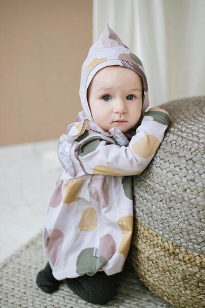 Pixie cepure - Krāsu traipi / Rozā