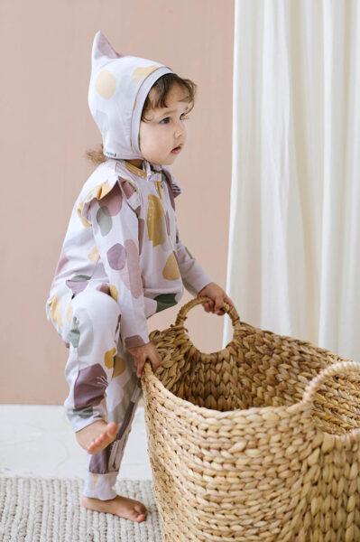 Pidžama - Krāsu traipi / Rozā