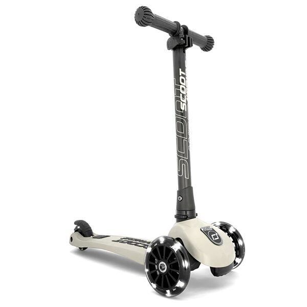 Scoot and Ride - Highwaykick 3 LED pelnu pelēks