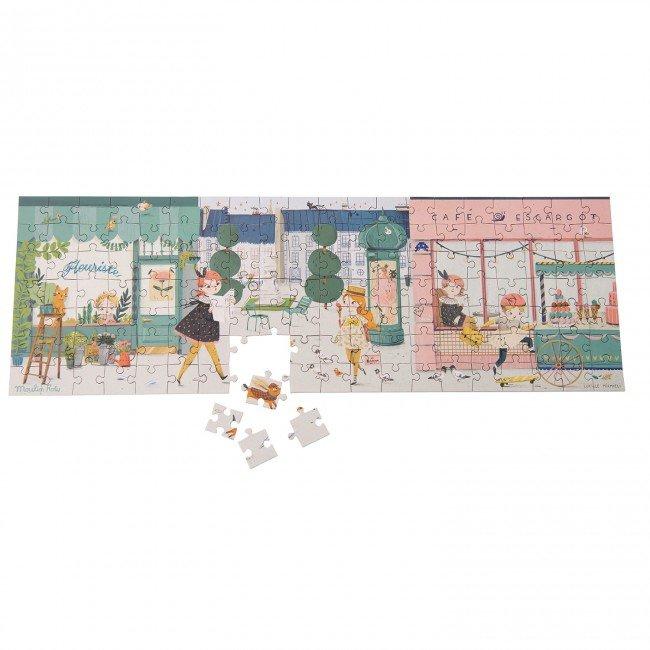 Moulin Roty puzle - Parīzes ielas