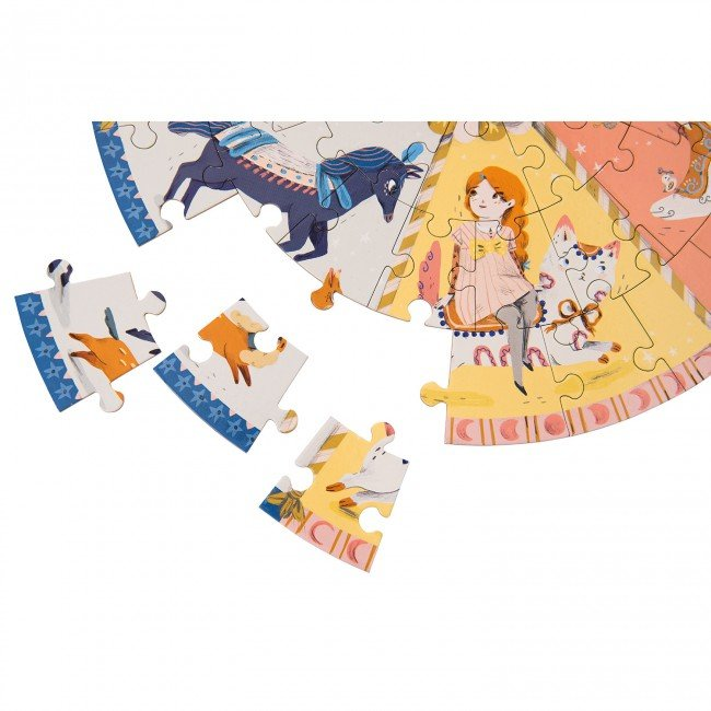 Moulin Roty puzle - Karuselis